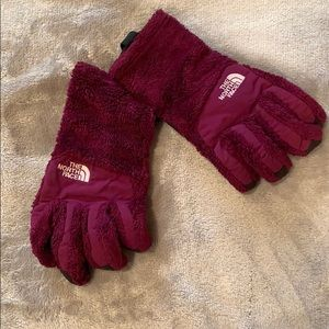 North Face touch screen gloves